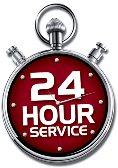 24/7 service in the metro area